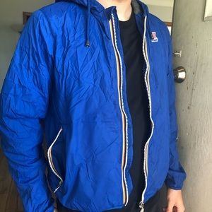 Royal Blue, lined packable K-Way. Hardly worn